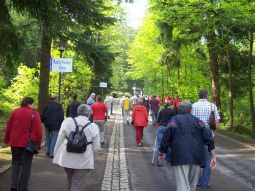 Ausflug 2010 nach Schlammersdorf